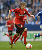 FUSSBALL   1. BUNDESLIGA   SAISON 2012/2013    29. SPIELTAG FC Schalke 04 - Bayer 04 Leverkusen                        13.04.2013 Stefan Kiessling (Bayer 04 Leverkusen) am Ball