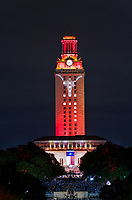 We were caputuring some image of the UT tower at graduation in downtown Austin when the tower was lit up in the traditional burnt orange colors of the school and the image of longhorn appeared.  We were a good distance from the campus and we still could capture this image of Austin UT campus tower which is a major presense in downtown and on this night you knew it was a special night when the tower was burnt orange and from a great distance you can see it all lit orange up with a longhorn on the side you knew this was  something unique and different to this years graduation.  I heard them say their were over 9, 280  graduates this year so for all of them congrat on your achievment. Congrats to all!