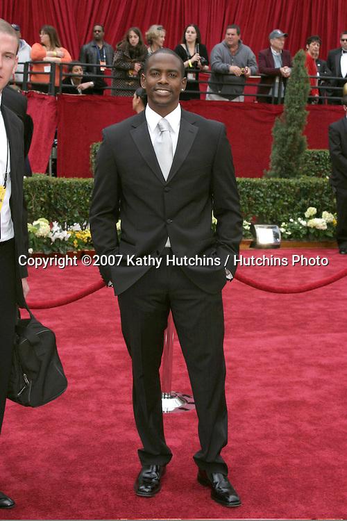 Keith Robinson.79th Annual Academy Awards.Kodak Theater .Hollywood & Highland.Hollywood, CA.February 25, 2007.©2007 Kathy Hutchins / Hutchins Photo....