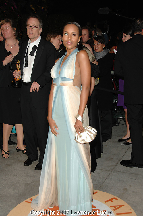 Kerry Washington attends the 2007 Vanity Fair Oscar Party held at Morton's Steakhouse in Los Angeles, CA, USA on February 25, 2007... (Pictured : KERRY WASHINGTON).