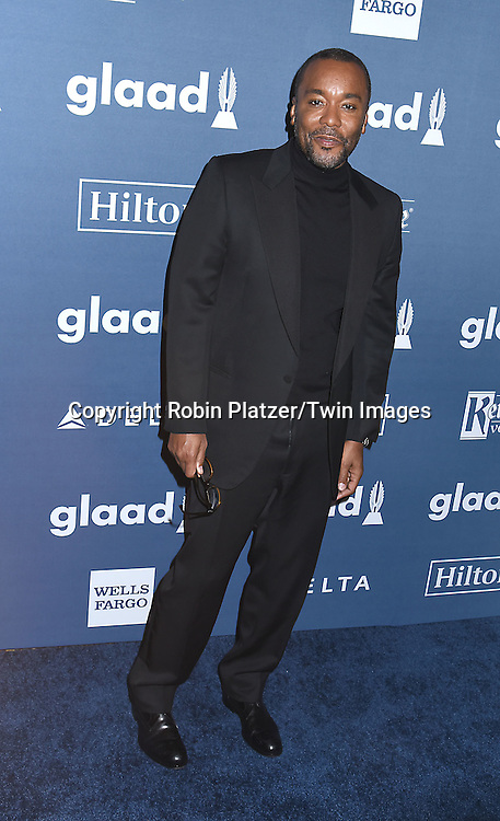 Lee Daniels attends the 27th Annual GLAAD Media Awards on May 14, 2016 at the Waldorf Astoria Hotel in New York City, New York, USA.<br /> <br /> photo by Robin Platzer/Twin Images<br />  <br /> phone number 212-935-0770