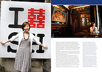14 pages in Air Madagascar's inflight magazine Orchid, January 2010. Photos by Lucas Schifres/Pictobank
