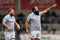 Kane Palma-Newport of Bath Rugby. Aviva Premiership match, between Sale Sharks and Bath Rugby on May 6, 2017 at the AJ Bell Stadium in Manchester, England. Photo by: Patrick Khachfe / Onside Images