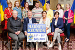 Harnett Reunion: Official Launch a Leen's Hotel, Abbeyfeale on Wednesday night, Seated : Marian , James, Irene, Eileen. <br /> Back: Sheila, Laurenza, Helen, Pat, Kathleen, Eileen, Máire