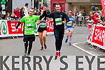 Brian O?Sullivan, 284 Ian O?Sullivan, 286, Helen Tansley, 332 and Thomas P. Crean, 1081 who took part in the 2015 Kerry's Eye Tralee International Marathon Tralee on Sunday.