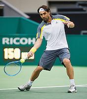 12-02-13, Tennis, Rotterdam, ABNAMROWTT, Marcos Baghdatis