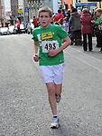 Alan Connor taking part n the Saint Vincent de Paul 5Km run. Photo: Colin Bell/pressphotos.ie