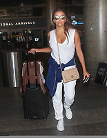 Desperate housewives actress Eva Longoria Sighted at LAX Airport in LA<br /> 28.07.17