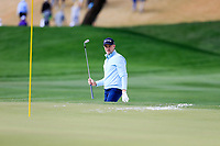 Russell Knox (SCO) in the 9th green side bunker during the 3rd round of the Waste Management Phoenix Open, TPC Scottsdale, Scottsdale, Arisona, USA. 02/02/2019.<br /> Picture Fran Caffrey / Golffile.ie<br /> <br /> All photo usage must carry mandatory copyright credit (© Golffile | Fran Caffrey)