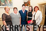 Ballylongford Social:Attending the Ballylongford GAA social at the Listowel Arms Hotel on Saturday night last were Marie Robjohn, Helen O'Connor, Jamie O'Connor, Eimear Walsh & Siobhan Walsh.