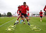 James Wilson of Sheffield Utd during the training session at the Shirecliffe Training complex, Sheffield. Picture date: June 27th 2017. Pic credit should read: Simon Bellis/Sportimage