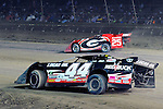 Sep 12, 2010; 12:28:56 AM; Rossburg, OH., USA; The 40th annual running of the World 100 Dirt Late Models racing for the Globe trophy at the Eldora Speedway.  Mandatory Credit: (thesportswire.net)