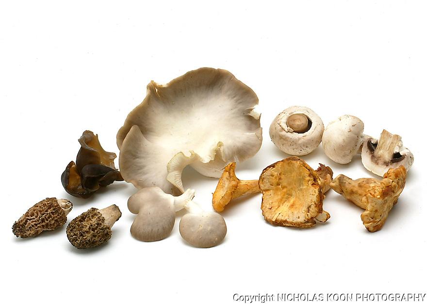 Mushroom still life.