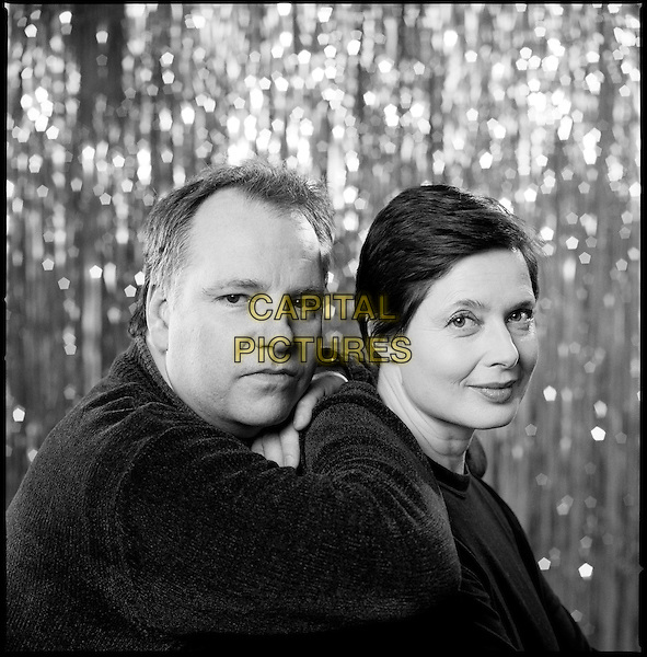 GUY MADDIN (DIRECTOR) & ISABELLA ROSSELLINI (SCREENWRITER).on the set of My Dad Is 100 Years Old .**Editorial Use Only**.CAP/FB.Supplied by Capital Pictures
