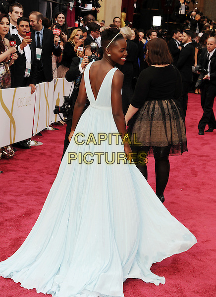 HOLLYWOOD, CA- MARCH 02: Actress Lupita Nyong'o attends the 86th Annual Academy Awards held at Hollywood &amp; Highland Center on March 2, 2014 in Hollywood, California.<br /> CAP/ROT/TM<br /> &copy;Tony Michaels/Roth Stock/Capital Pictures