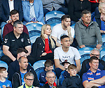 14.07.2019: Rangers v Marseille: Mrs Polster in the stand.