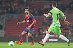 08.01.2014 Barcelona, Spain. Spanish Cup 1/8 Final. Picture show Montoya in action during game between FC Barcelona against Getafe at Camp Nou