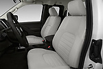 Front seat view of 2018 Nissan Frontier S-King-Cab 4 Door Pickup Front Seat  car photos