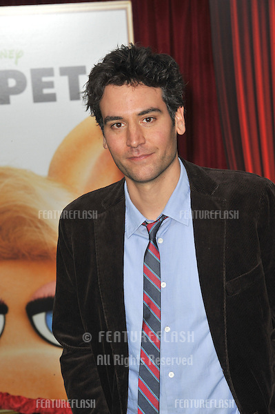 "Josh Radnor at the world premiere of ""The Muppets"" at the El Capitan Theatre, Hollywood..November 12, 2011  Los Angeles, CA.Picture: Paul Smith / Featureflash"
