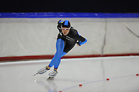 SCHAATSEN: HEERENVEEN: Thialf, 4th Masters International Speed Skating Sprint Games, 25-02-2012, Renske Winters (F35) 1st, ©foto: Martin de Jong