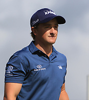 Paul Dunne (IRL)  on the 5th tee during Round 4 of Made in Denmark at Himmerland Golf &amp; Spa Resort, Farso, Denmark. 27/08/2017<br /> Picture: Golffile | Thos Caffrey<br /> <br /> All photo usage must carry mandatory copyright credit     (&copy; Golffile | Thos Caffrey)