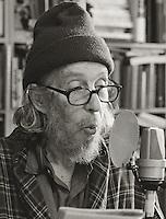 Tuli Kupferberg, 2006.  Poet, writer, cartoonist, anarchist, publisher.  Co-founder of The Fugs.