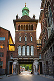DENMARK, Copenhagen, Architecture of the Carlsberg Brewery, Europe