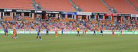 Mango.com LED displayed at the Houston Dash vs. Orlando Pride game on Friday, May 20, 2016 at BBVA Compass Stadium in Houston Texas. The Orlando Pride defeated the Houston Dash 1-0.