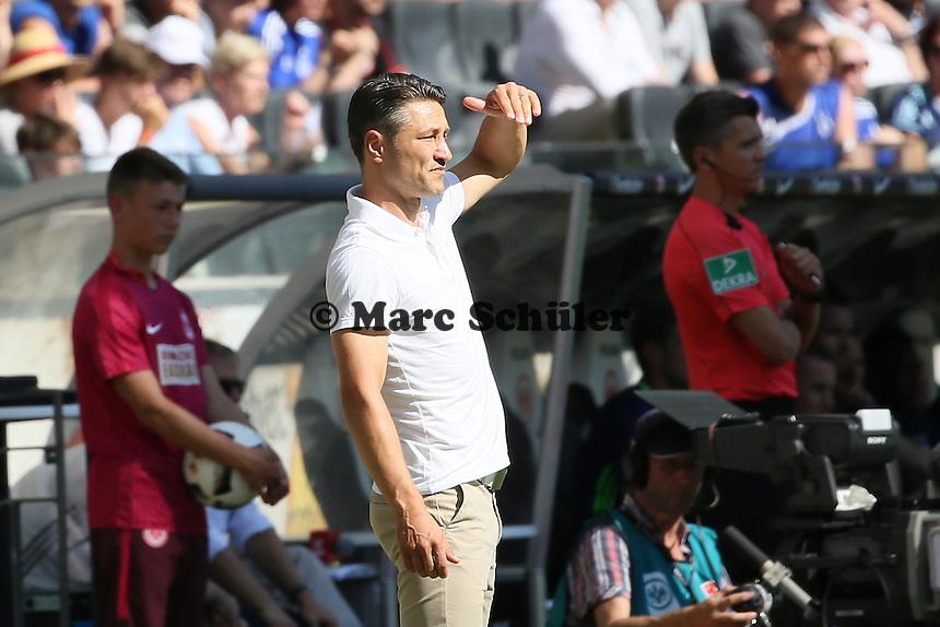 Trainer Niko Kovac (Eintracht Frankfurt) - 27.08.2016: Eintracht Frankfurt vs. FC Schalke 04, Commerzbank Arena
