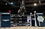 Denis Lynch of Ireland rides Querida in action at the Longines Grand Prix during the Longines Hong Kong Masters 2015 at the AsiaWorld Expo on 15 February 2015 in Hong Kong, China. Photo by Juan Flor / Power Sport Images