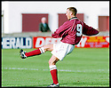 3rd October 98      .Copyright Pic : James Stewart   .STENHOUSEMUIR V ALBION ROVERS.ALAN LAWRENCE  FIRES HOME STENNY'S THIRD GOAL......Payments to :-.James Stewart Photo Agency, Stewart House, Stewart Road, Falkirk. FK2 7AS      Vat Reg No. 607 6932 25.Office : 01324 630007        Mobile : 0421 416997.If you require further information then contact Jim Stewart on any of the numbers above.........