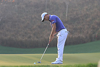 Emiliano Grillo (ARG) in action on the 11th during Round 2 of the Hero Indian Open at the DLF Golf and Country Club on Friday 9th March 2018.<br /> Picture:  Thos Caffrey / www.golffile.ie<br /> <br /> All photo usage must carry mandatory copyright credit (&copy; Golffile | Thos Caffrey)