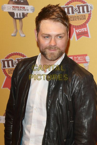 LONDON, ENGLAND - APRIL 14: Brian McFadden attends the M&amp;M's Characters Election launch party at M&amp;M's World on April 14, 2015 in London, England.<br /> CAP/ROS<br /> &copy;Steve Ross/Capital Pictures