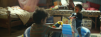CAPERNAUM (2018)<br /> Zain Al Rafeea as Zain, Boluwatife Treasure Bankole as Yonas<br /> *Filmstill - Editorial Use Only*<br /> CAP/FB<br /> Image supplied by Capital Pictures