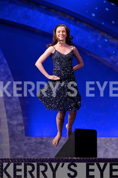 Big Apple Rose Caitlin McNeill Irish dancing at the Rose selection in the dome on Tuesday evening.