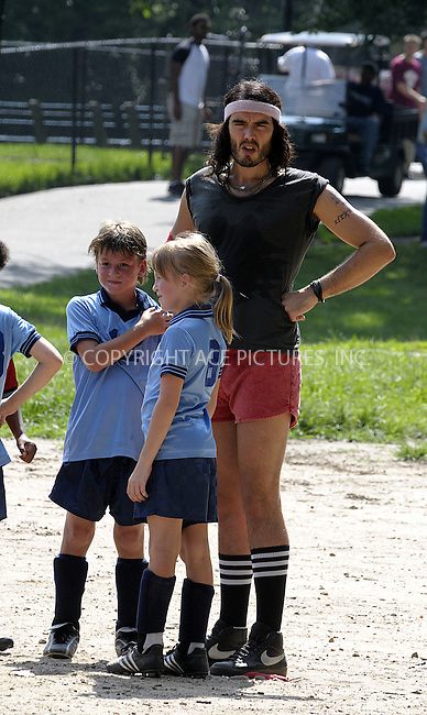 WWW.ACEPIXS.COM . . . . .  ....July 30 2009, New York City....Actor Russell Brand on the Central Park set of the new movie 'Get him to the Greek' on July 30 2009 in New York City....Please byline: AJ Sokalner - ACEPIXS.COM..... *** ***..Ace Pictures, Inc:  ..tel: (212) 243 8787..e-mail: info@acepixs.com..web: http://www.acepixs.com