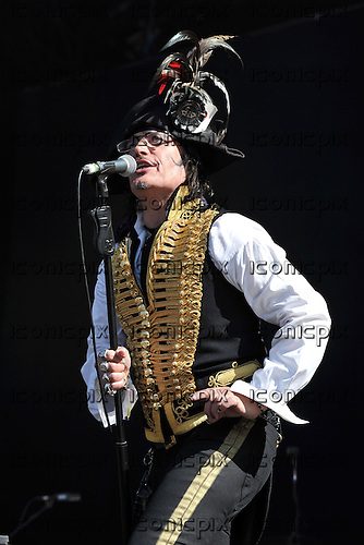 ADAM ANT performing live on Day 3 of the Hard Rock Calling Festival in Hyde Park London UK - 26 Jun 2011.  Photo credit: Zaine Lewis/IconicPix