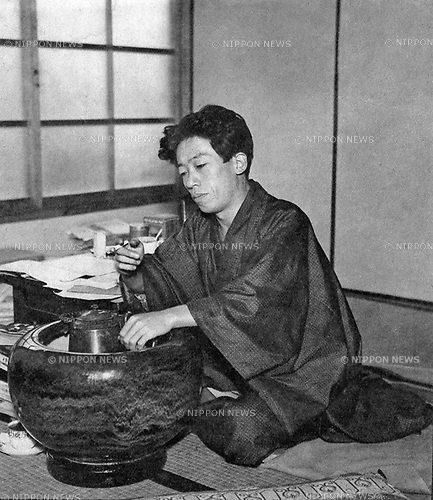 Undated - Takiji Kobayashi (1903-1933) was a Japanese author of proletarian literature. His most famous work is Kanikoen (Crab-Canning Boat) which published in 1929. It tells the story of several different people and the beginning of organization into unions of fishing workers.  (Photo by Kingendai Photo Library/AFLO)
