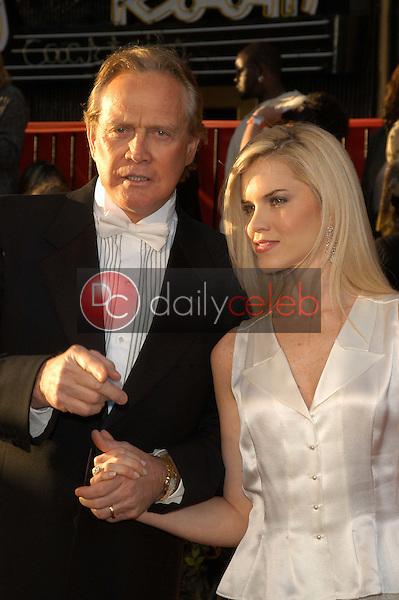 Lee Majors and wife Faith