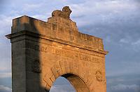 Europe/France/Aquitaine/33/Gironde/Saint-Julien: Portail des vignes du clos Léoville Lascases (AOC Saint-Julien)