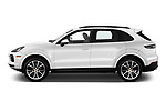 Car driver side profile view of a 2019 Porsche Cayenne Base 5 Door SUV