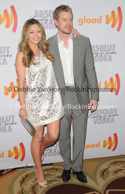Rebecca Gayheart Dane & Eric Dane at the 21st Annual GLAAD Media Awards held at The Hyatt Regency Century Plaza in Century City, California on April 17,2010                                                                   Copyright 2010  DVS / RockinExposures