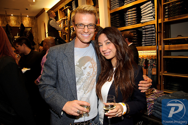 Alex and AnnMarie Smidt at the True Religion store opening in the Forum Shoppes located in Caesar's Palace, Las Vegas, NV, November 18, 2010 © Al Powers / Vegas Magazine