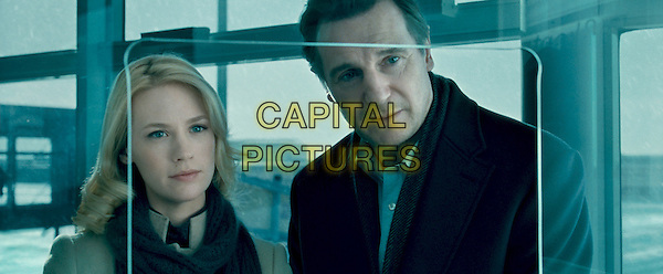 JANUARY JONES & LIAM NEESON.in Unknown.*Filmstill - Editorial Use Only*.CAP/FB.Supplied by Capital Pictures.