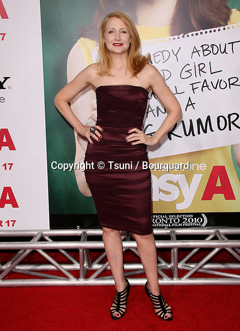 Patricia Clarkson<br /> Easy a Premiere at the Chinese Theatre In Los Angeles.