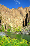 Gunnison River in Black Canyon of the Gunnison National Park, Gunnison, Colorado, USA John leads private photo tours throughout Colorado, year-round.