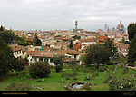 View from Monte alla Croci Florence