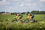 Cycling Team De Rijke (RIJ), Stage 2: Team Time Trial, 62th Olympia's Tour, Netterden, The Netherlands, 13th May 2014, Photo by Pim Nijland / Peloton Photos