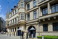 Palais Grand Ducal in Stadt Luxemburg, Luxemburg