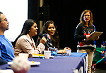 Latino Cohort students talk to the crowd during the La Posada Celebration at Western Nevada College, in Carson City, Nev., on Saturday, Dec. 15, 2018. <br />Photo by Cathleen Allison/Nevada Momentum